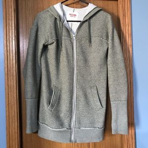 EUC Green Full-Zip Sweatshirt